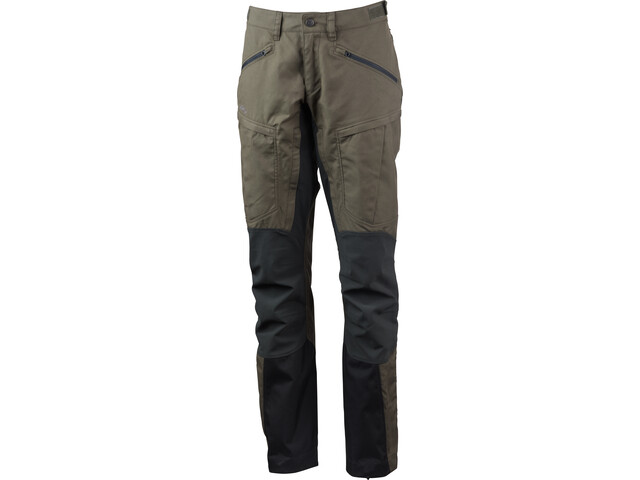 Lundhags Makke Pro Pantaloni Donna, forest green/charcoal